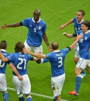 foto italia germania euro 2012