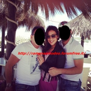 Teresanna Pugliese ai Caraibi senza Francesco Monte