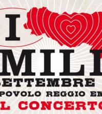 Italia loves Emilia logo concerto beneficenza
