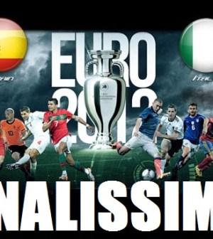 Foto di Spagna Italia Finale EUro 2012