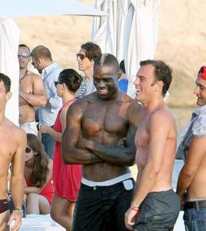 Mario Balotelli amici