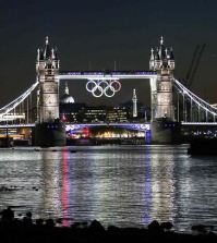 Foto Tower Bridge Olimpiadi Londra 2012