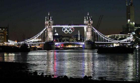 Foto Tower Bridge Olimpiadi Londra 2012