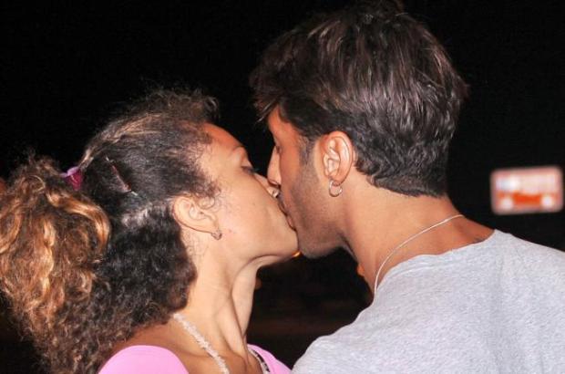 Fabrizio Corona e Giovanna