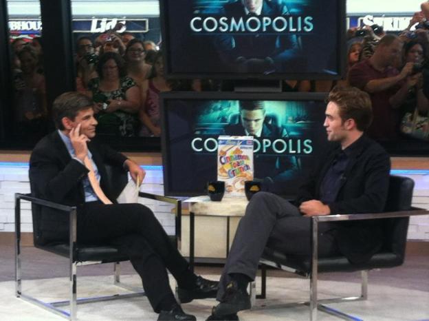 Intervista a Robert Pattinson