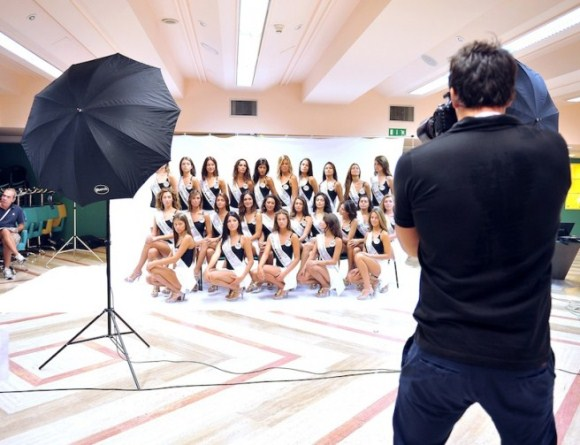 Foto Miss Italia 2012 gruppo