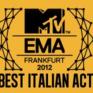 MTV EMA 2012 Best italian Act logo