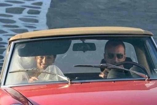 Giorgia Surina e Nicolas Vaporidis sposi: le foto
