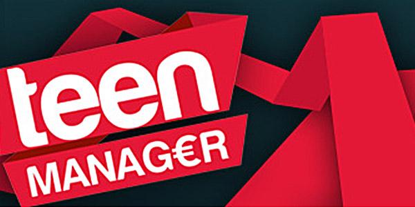 teen manager sabato rai due logo