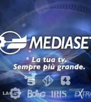Logo di Mediaset 2012