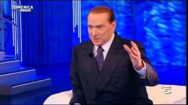Silvio Berlusconi a L'Arena e In Onda
