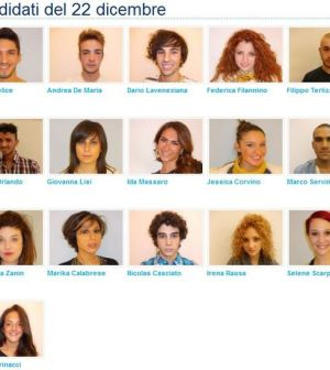 Foto Candidati Amici 12 quinta puntata