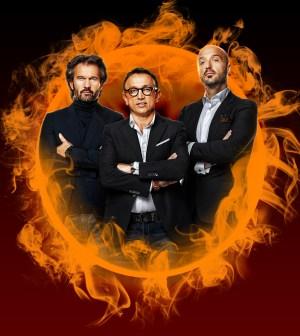 foto dei tre giudici di masterchef2