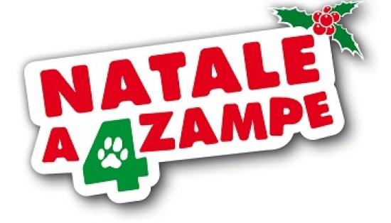 foto del logo di natale a quattro zampe