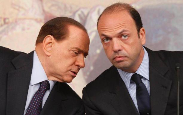 Silvio Berlusconi a Ballarò al posto di Alfano