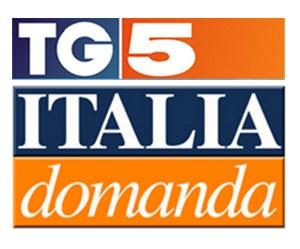 foto del logo di italia domanda a cura del tg5