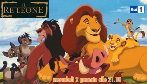 Il re leone in prima tv assoluta su Rai1