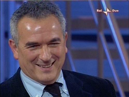 Il giornalista Lamberto Sposini