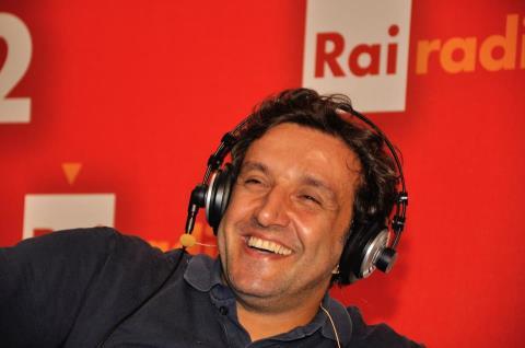 Flavio Insinna a Radio 2