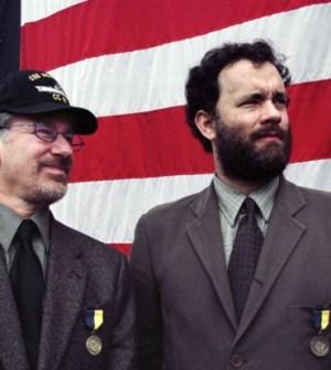 Foto Steven Spielberg e Tom Hanks