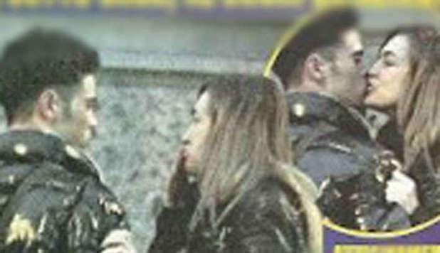 Lory Del Santo e Giuseppe Vella insieme