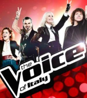 Foto giudici di The Voice of Italy su Rai 2