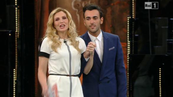 Lorella Cuccarini e Marco Mengoni