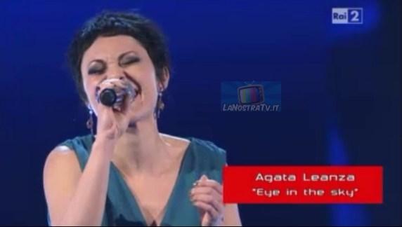 Foto di Agata Leanza The Voice of Italy