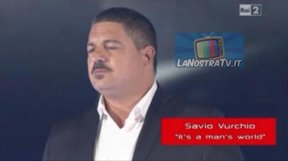 Foto di Savio a The Voice of italy