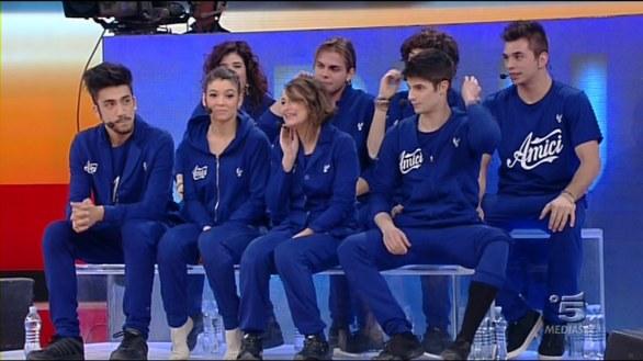 Foto della squadra blu Amici 12