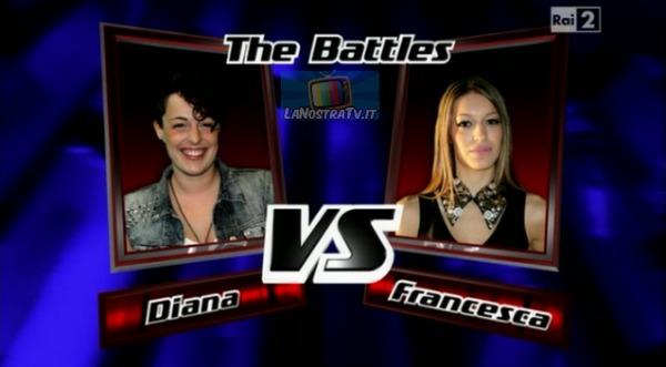 Foto di Diana e Francesca The Voice of Italy