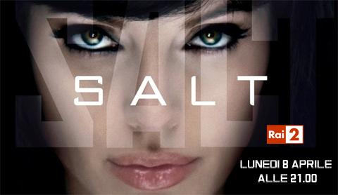 Cinema, cinema: Salt, con Angelina Jolie su Rai2
