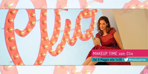 makeup time con clio realtime tv