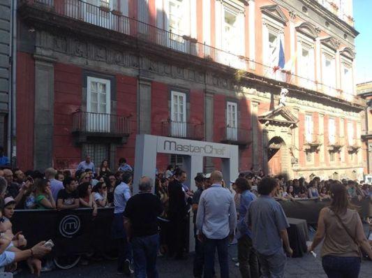 MasterChef Italia a Napoli con Bastianich, Cracco e Barbieri