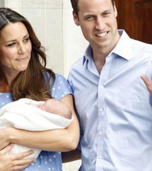 William e Kate con il royal baby