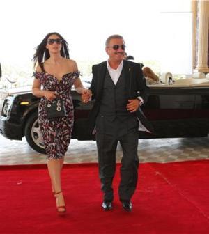 Monica Bellucci e Telman-Ismailov