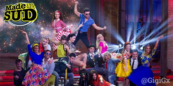 made in sud rai2 prima serata cast