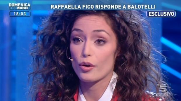 Raffaella Fico a Domenica Live