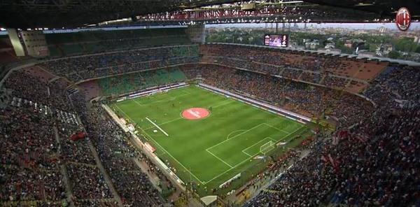 Stadio Meazza, Milan-Roma