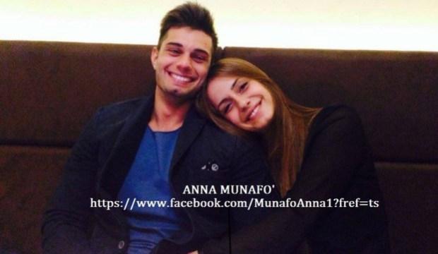 Anna Munafò ed Emanuele felici e sorridenti dopo la scelta