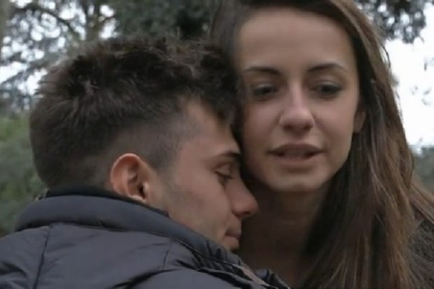 momento diffiicle per Anna Munafò ed Emanuele