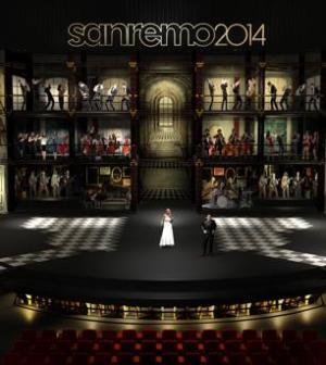 Foto Sanremo 2014 Conferenza Stampa 17 febbraio