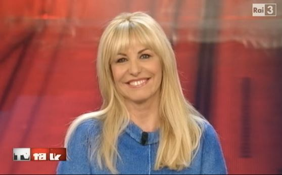 antonella clerici a tv talk