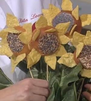 foto bouquet di panini girasole