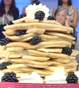 Pancake alle banane di Ambra Romani, La prova del cuoco
