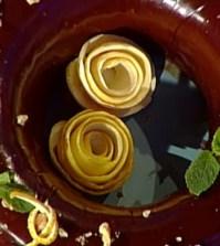 foto ciambella noci e cioccolato