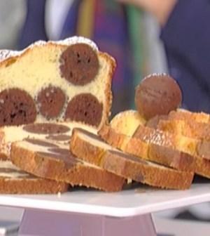 La prova del cuoco: plumcake a pois di Natalia Cattelani