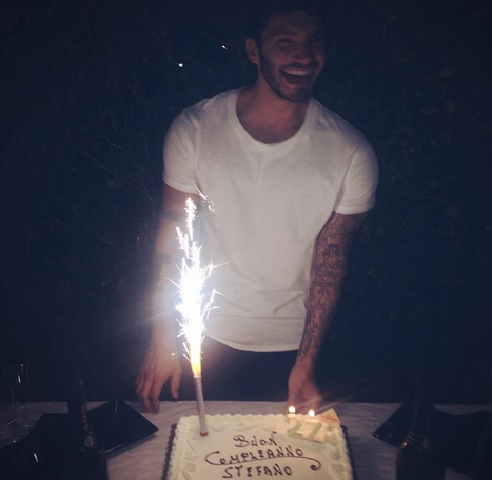 Stefano De Martino, compleanno da single o con Emma Marrone?