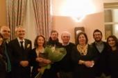 """Il ricordo di Cerignola del """"Ministro dell'Armonia"""" ieri al Teatro Mercadante"""