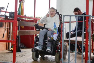 In Pictures: Wheelchair accessible Steam Train launched in ...